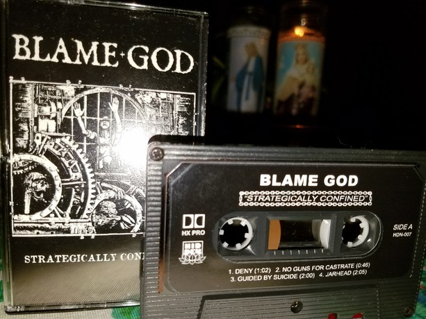 BLAME GOD - Strategically confined