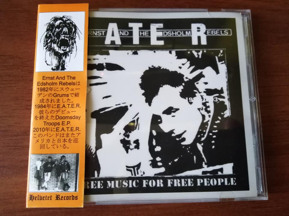 E.A.T.E.R. - Free music for free people 1982 - 2017