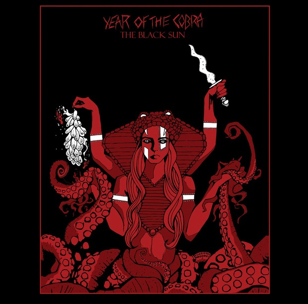 YEAR OF COBRA - The black sun